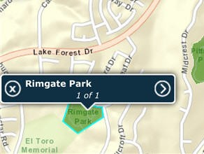 Lake Forest Mobile Maps