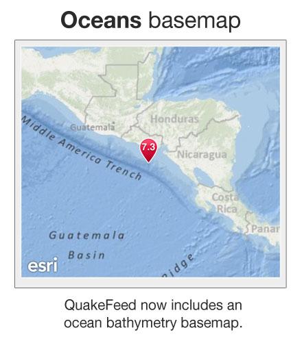 Oceans Basemap